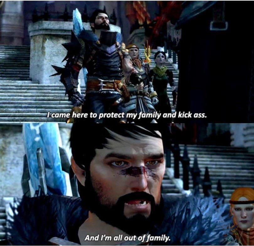 Dragon Age In A Nutshell Http Ift Tt 2dkrwjo Check Out Mystikz Gaming Http Ift Tt 2tvnfmj With Images Dragon Age Funny Dragon Age Comics Dragon Age Memes