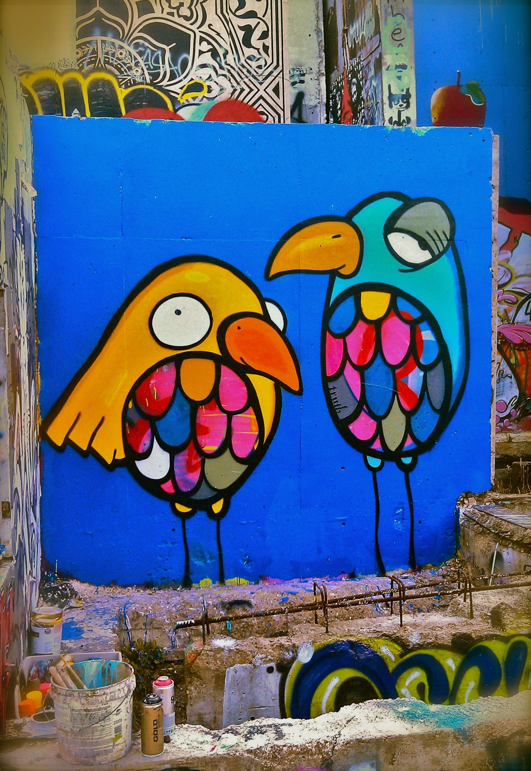 Street Art Truth Hope Outdoor Gallery Mural Wall Art Mural Painting Mural
