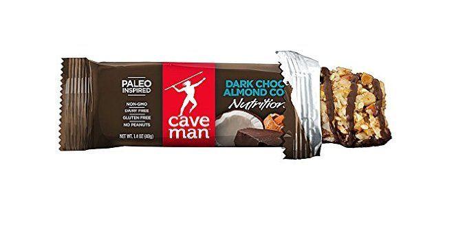 Caveman Food Bars : Caveman foods nutrition bars gluten free dark chocolate almond