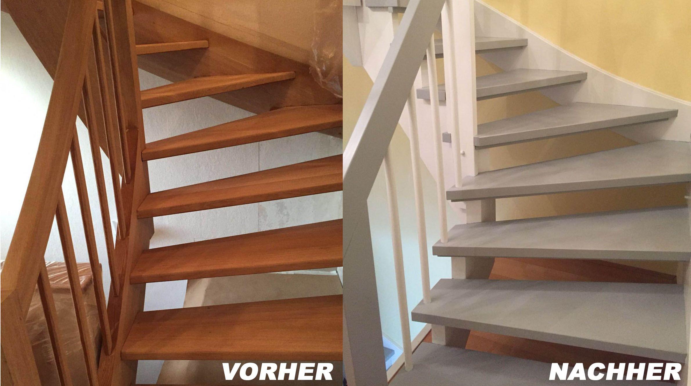offene treppe renovieren