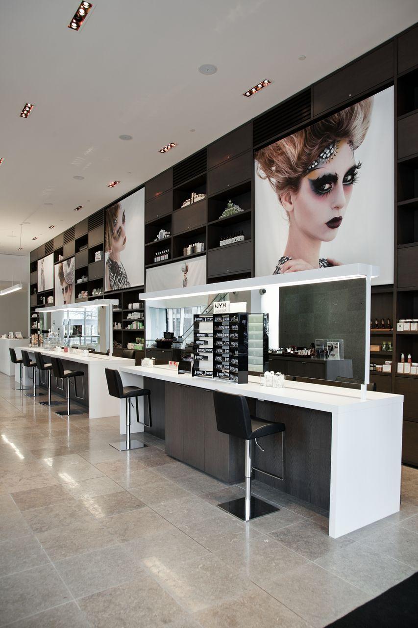 Blanche Macdonald S Beauty Store Curlique Beauty In Vancouver Bc Design Education Center Retail Design Blog