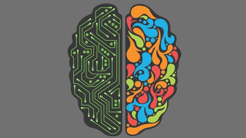 9 Beautiful Desktop Backgrounds Designed To Make You Smarter Brain Art Right Brain Left Brain Right Brain