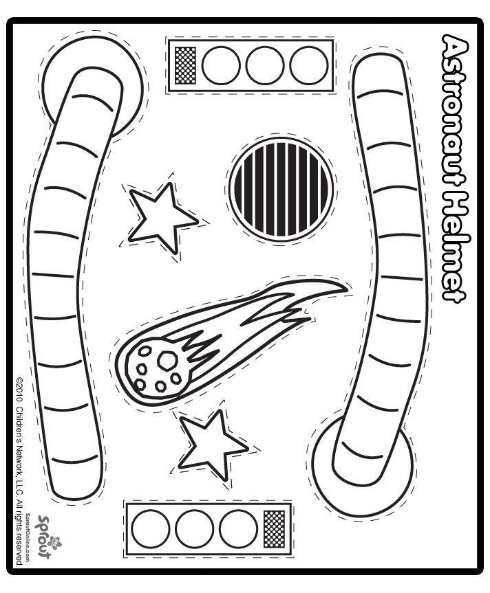 Helmetcutout Jpg 712 863 Pixels Space Crafts Astronaut Craft
