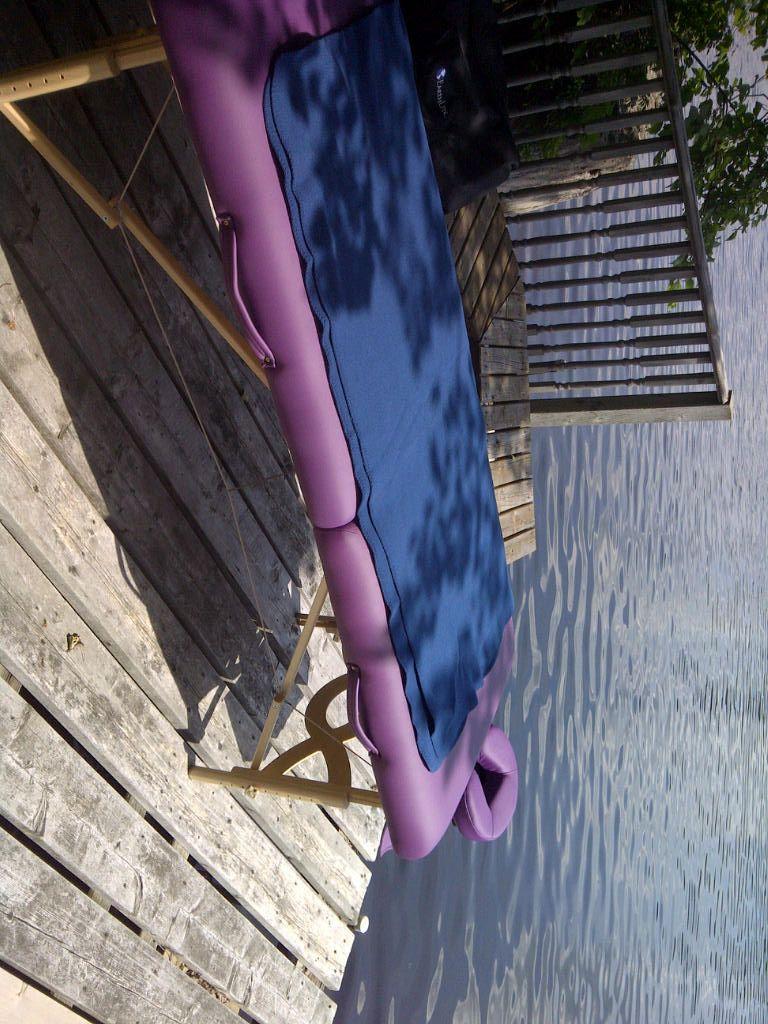 Massage on the lake!