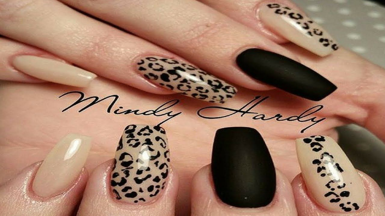 Nail Art Designs Step By Step Easy Nail Art For Beginners Cheetah Nail Designs Leopard Print Nails Cheetah Nails