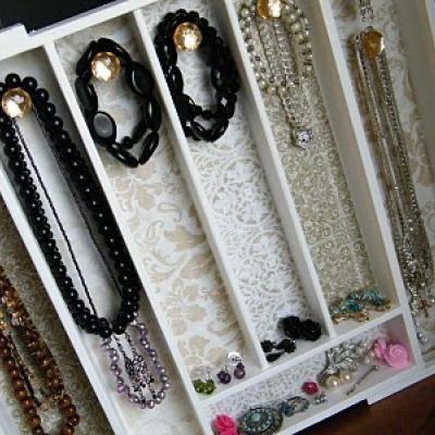 How to Make a Jewelry Organizer organize Diy jewelry organizer