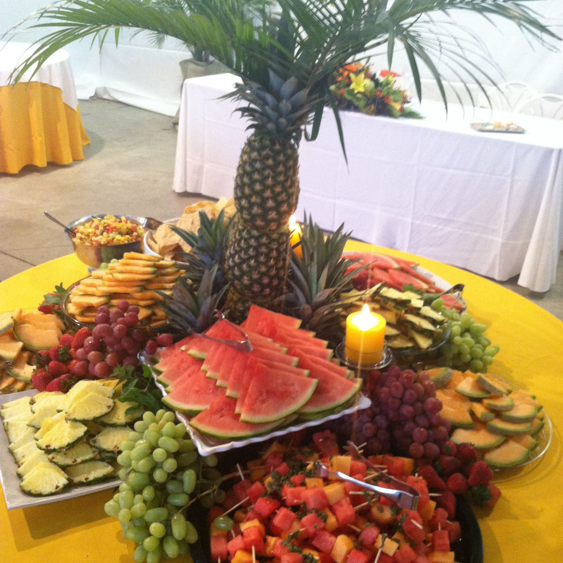 The Fruit Display U Did For A Wedding Reception Simply Gourmet