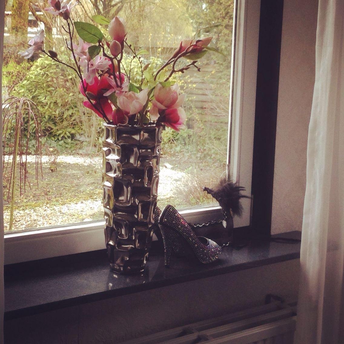 Decoratie voor de vensterbank