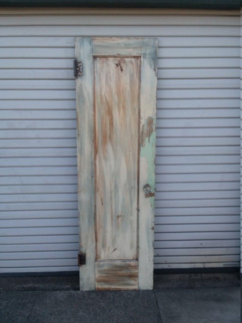 Pantry Door Rustic Door Farmhouse Door Antique Door Old Etsy In 2020 Door Backdrops Old Wooden Doors Wooden Pantry