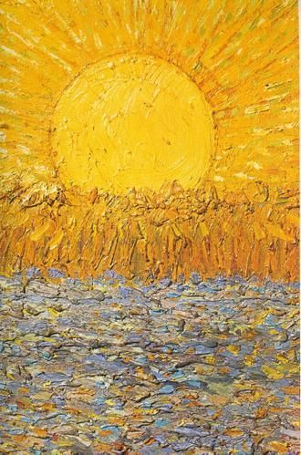 The Sower Sower With Setting Sun Detail 1888 Vincent Van