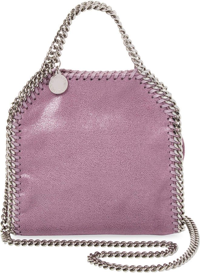 Stella McCartney Women s Falabella Shaggy Deer Tiny Tote Bag ... e2c72a1a86720