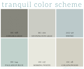 Coffee and Pine: Tranquil Color Scheme | Paint | Pinterest | Pine ...