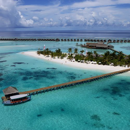 LUX* Maldives is the place for a real break, far removed from the bustle of modern life just 40 minutes by sea plane from Male. The resort offers fantastic facilities for water sports, a full spa and is close to the Maldives' best snorkelling and dive sites. Feeding rays in the lagoon around the hotel is also one of the resort's special attractions. The sea is never closer than in the exclusive Water Villas, standing on stilts over the lagoon