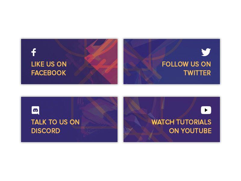 StreamElements Twitch Panels   umaUED-web   Design, Twitter