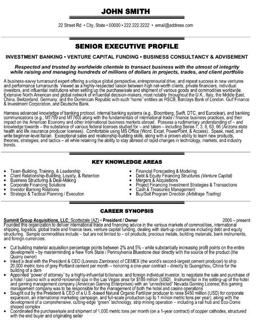 President Or Owner Resume Template Premium Resume Samples Example Executive Resume Template Resume Template Executive Resume