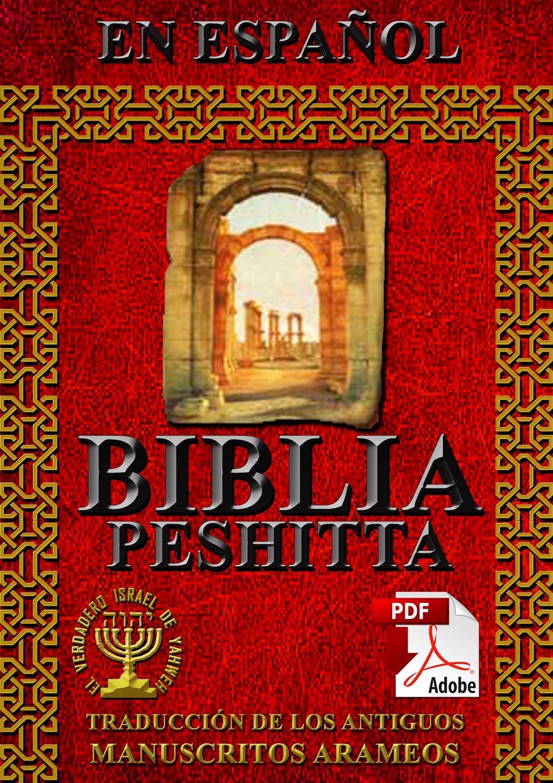 descargar biblia hebrea peshitta en pdf español gratis