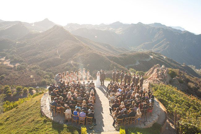 Hilltop Vineyard Wedding At Malibu Rocky Oaks Kristin Matt Malibu Rocky Oaks Malibu Rocky Oaks Wedding Places To Get Married