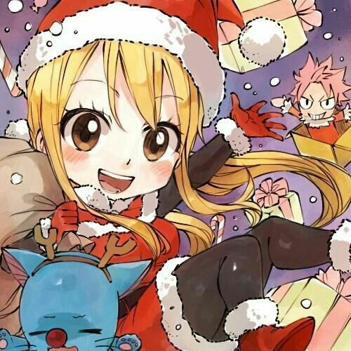 Merry Christmas! From Lucy Fairy Tail