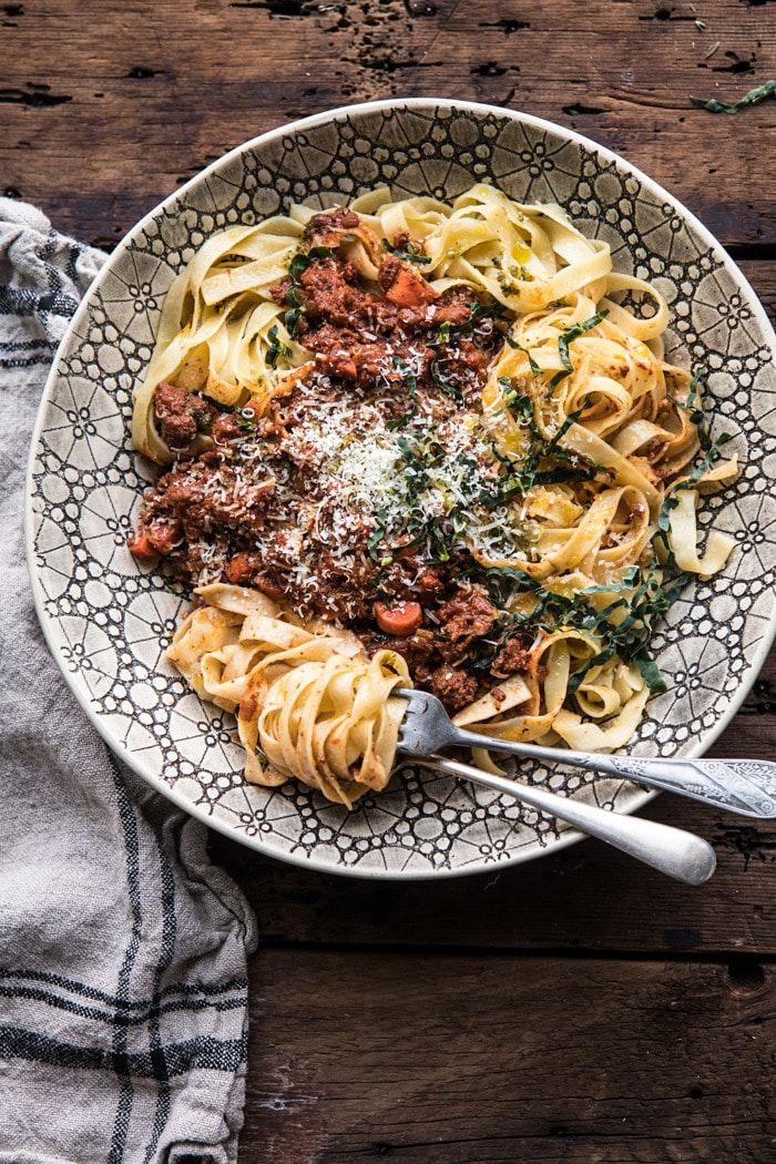 tortellini bolognese recept