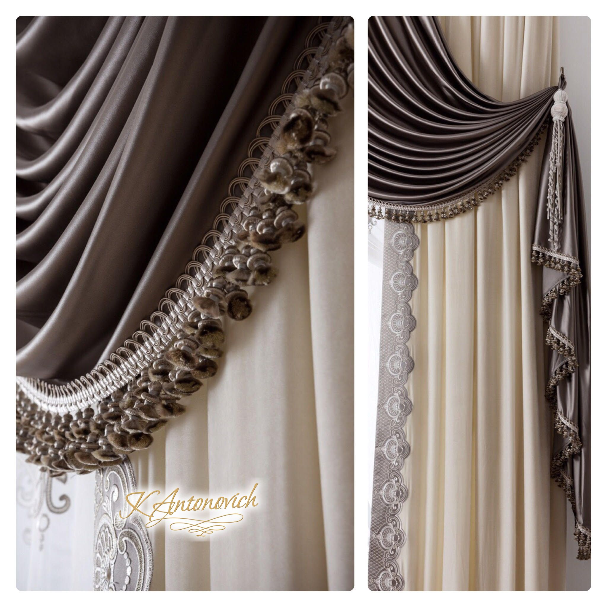 54c8e4b47828a Individual Curtain Design!👏 Our designer will help you with selection of  curtain pole
