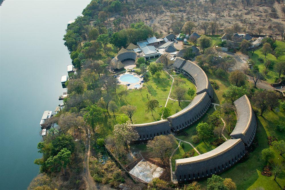 The newly renovated A'Zambezi River lodge. Africa