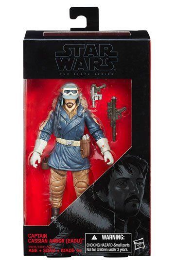 Roblox Blind Rogue Hasbro Star Wars Rogue One The Black Series 6 Inch Captain Cassian In Stock