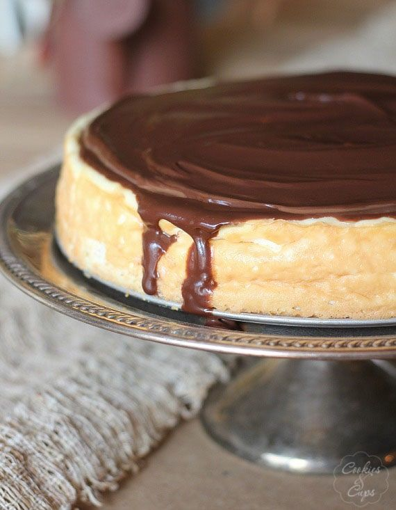 Boston Cream Pie Cheesecake Recipe Boston Cream Pie