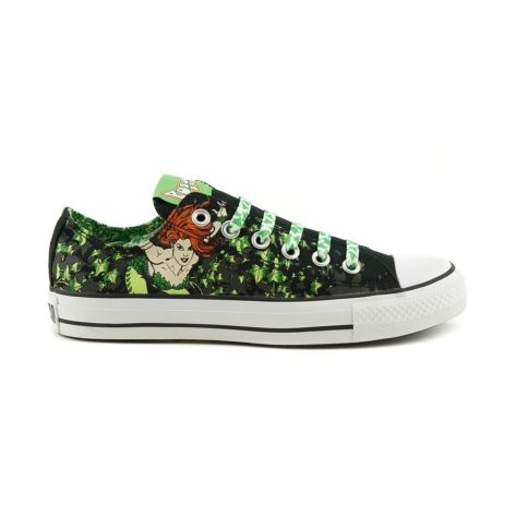 Shop for Converse All Star Lo Poison Ivy Athletic Shoe in Black at Journeys Shoes. Shop today for the hottest brands in mens shoes and womens shoes at Journeys.com. Poison Ivy themed Converse All Star Los with matching leafy laces. Classic canvas upper, text graphic tongue, and rubber outsole. Available exclusively at Journeys!