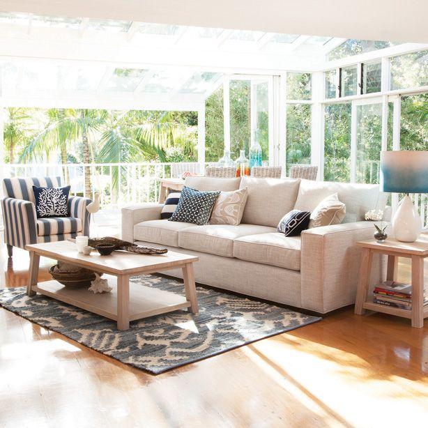 Oz Design Furniture Coastal Range Ashton Sofa Portsea