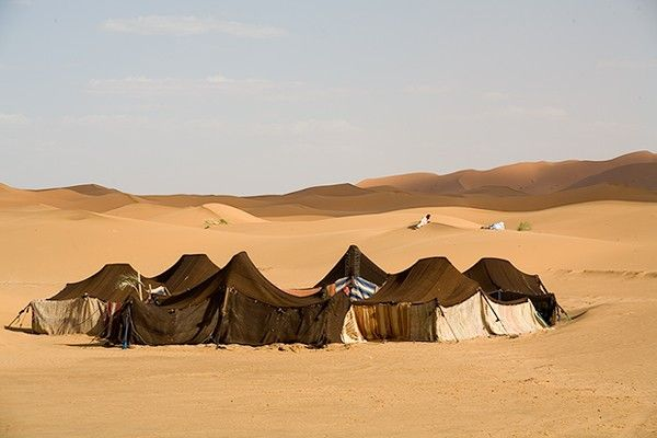 Berber Tents Sahara Desert Don Roberts & Berber Tents Sahara Desert Don Roberts | Earth-Everyday houses ...