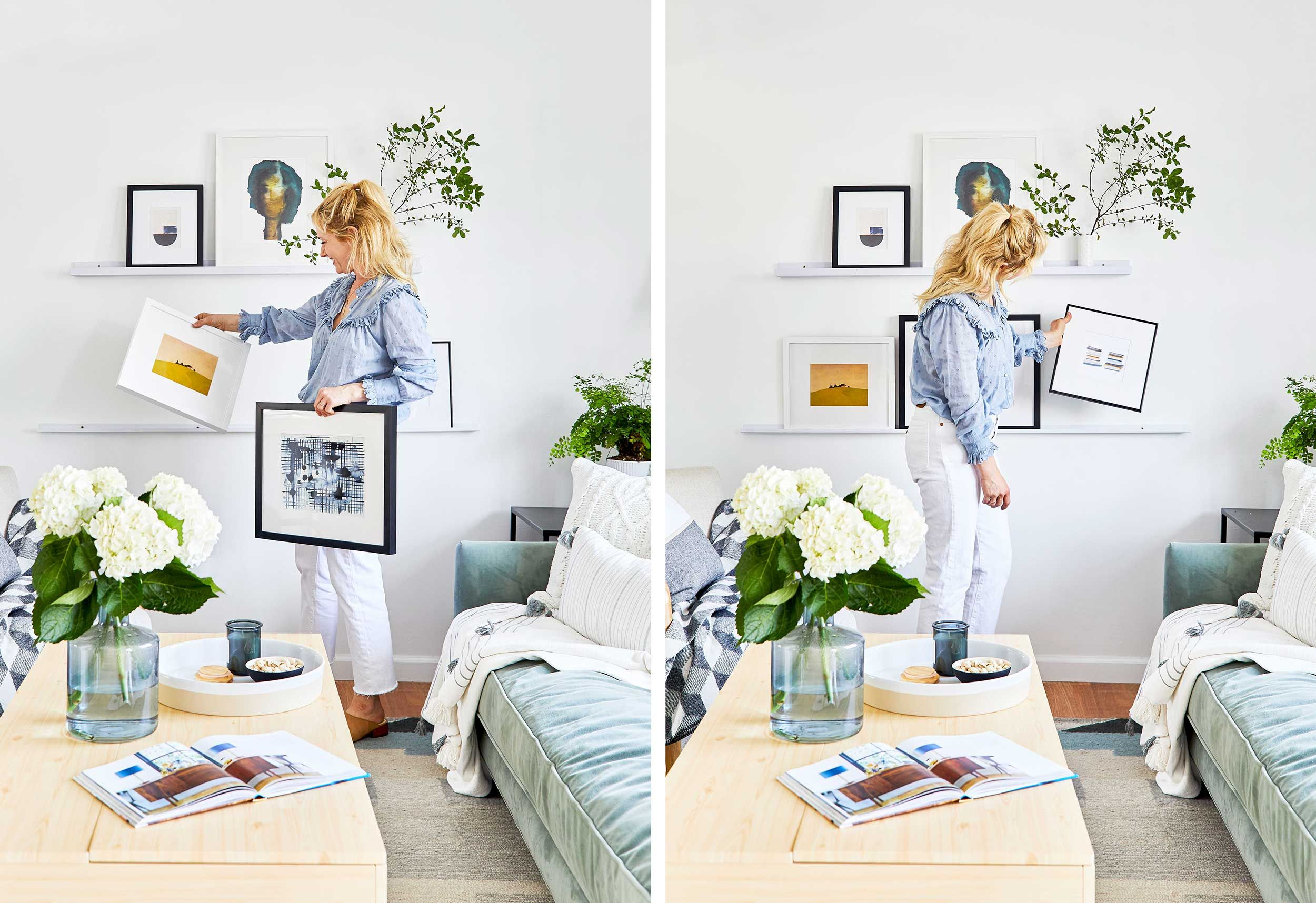 How To Pick Pair Hang Art For A Gallery Wall Without Panicking