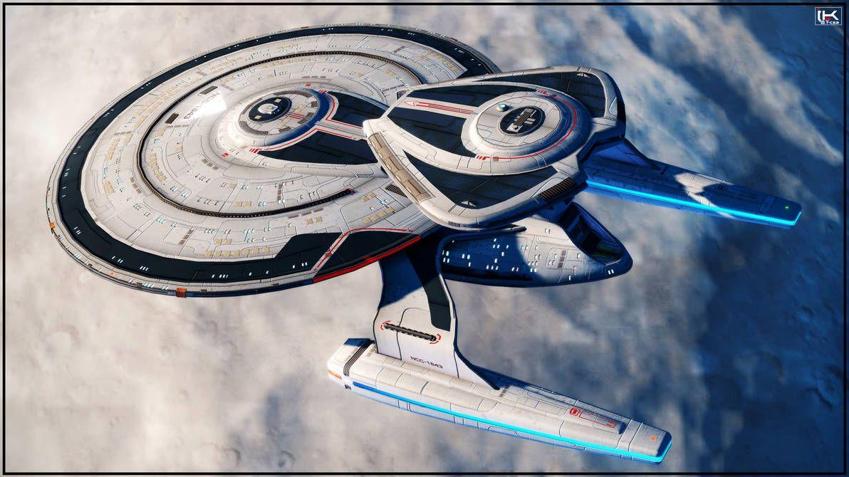 U.S.S. Newton #001 by Kurumi-Morishita on DeviantArt | Star trek art, Star  trek ships, Star trek starships