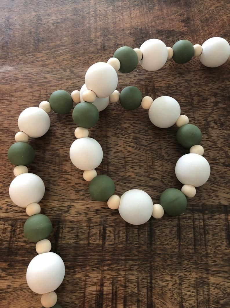 Pin by Madison Stephan on Beaded garland in 2020