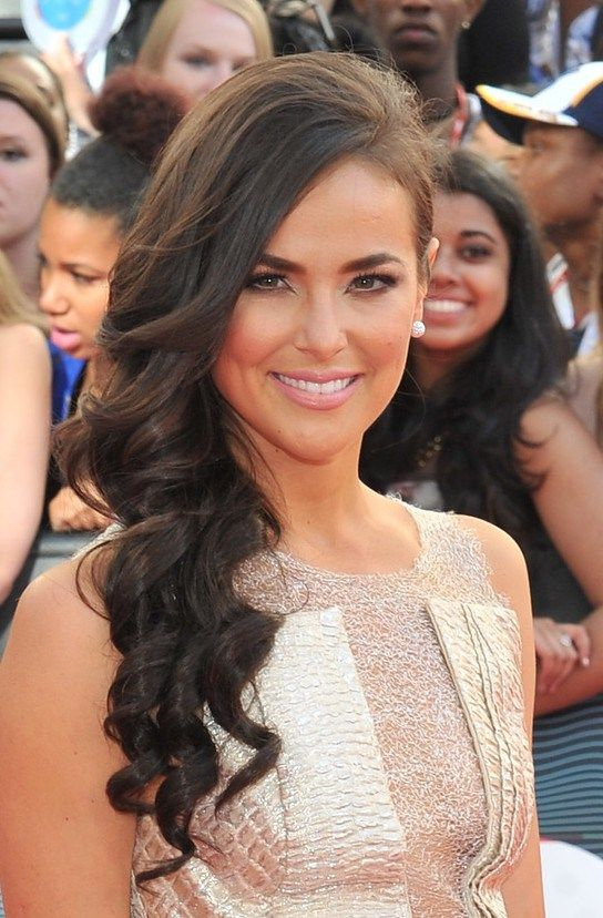 chloe wild hairstyles side swept prom hairstyle for long