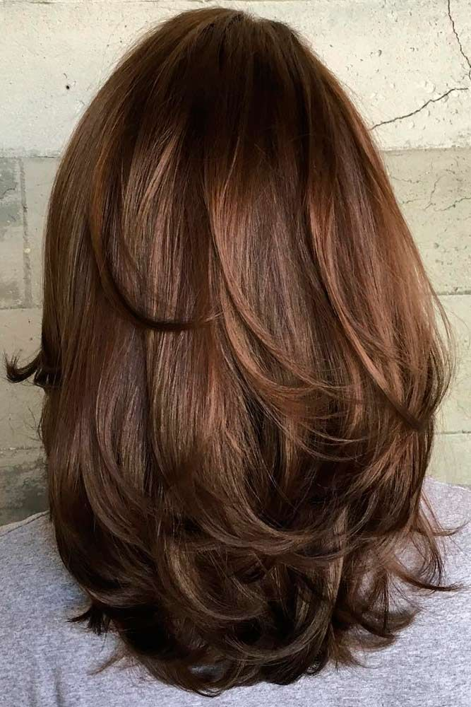 Hairstyles For Medium Hair Magnificent 20 Fun Flirty Fashionable Layered Haircuts For Medium Hair