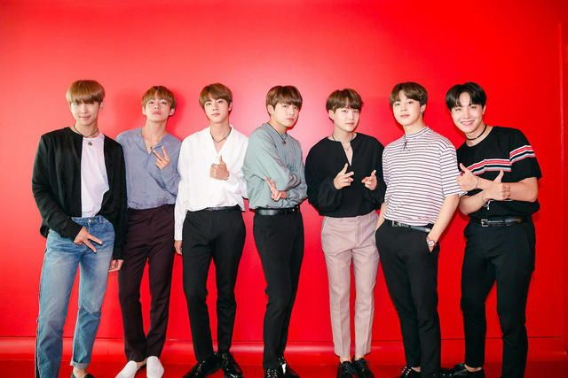 Bts For Iheartradio Bts Group Photos Bts Group Picture Bts