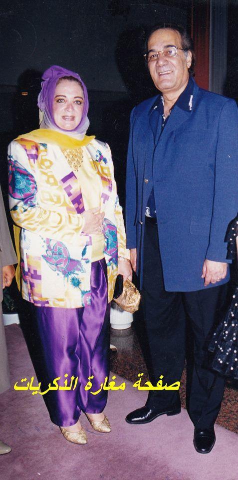 محمود ياسين و زوجته شهيرة Arab Celebrities Celebrities Fashion