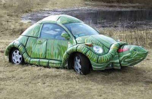 Vw Beetle Cool Paint Jobs Turtle Volkswagen