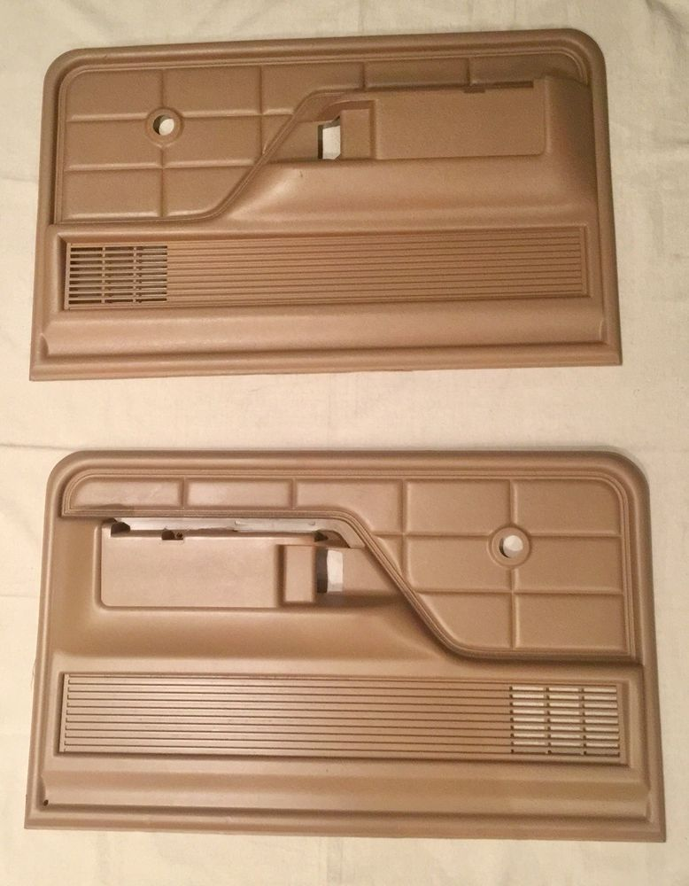 73 79 Ford Truck Door Panels Brown Sand Oem Ebay Ford Trucks 79 Ford Truck Truck Accessories Ford