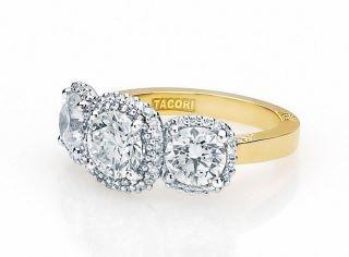 Isn't Nikki Reed's custom engagement ring created by Tacori amazing?