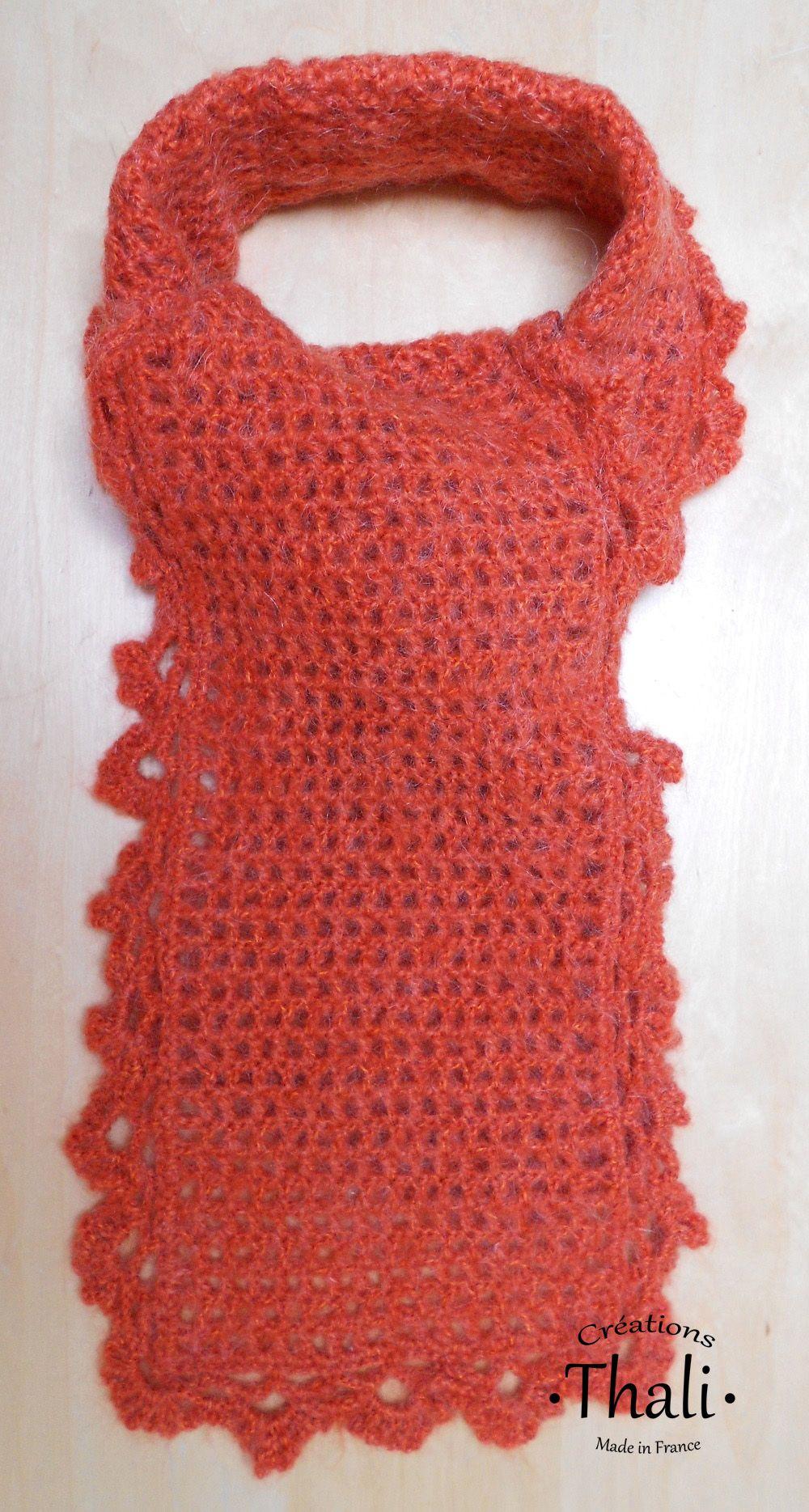 L'écharpe au crochet