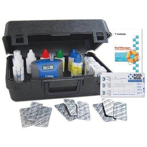 Lamotte Colorq Pro 9 Plus Digital Liquid Pool Spa Chemical Water Testing Kit Spa Chemicals Pool Chemicals Spa Items