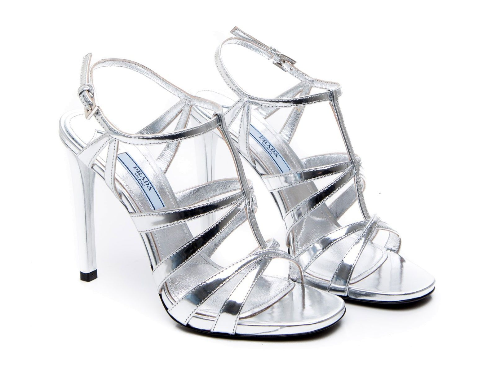 Silver High Heels For Kids FAHiX5