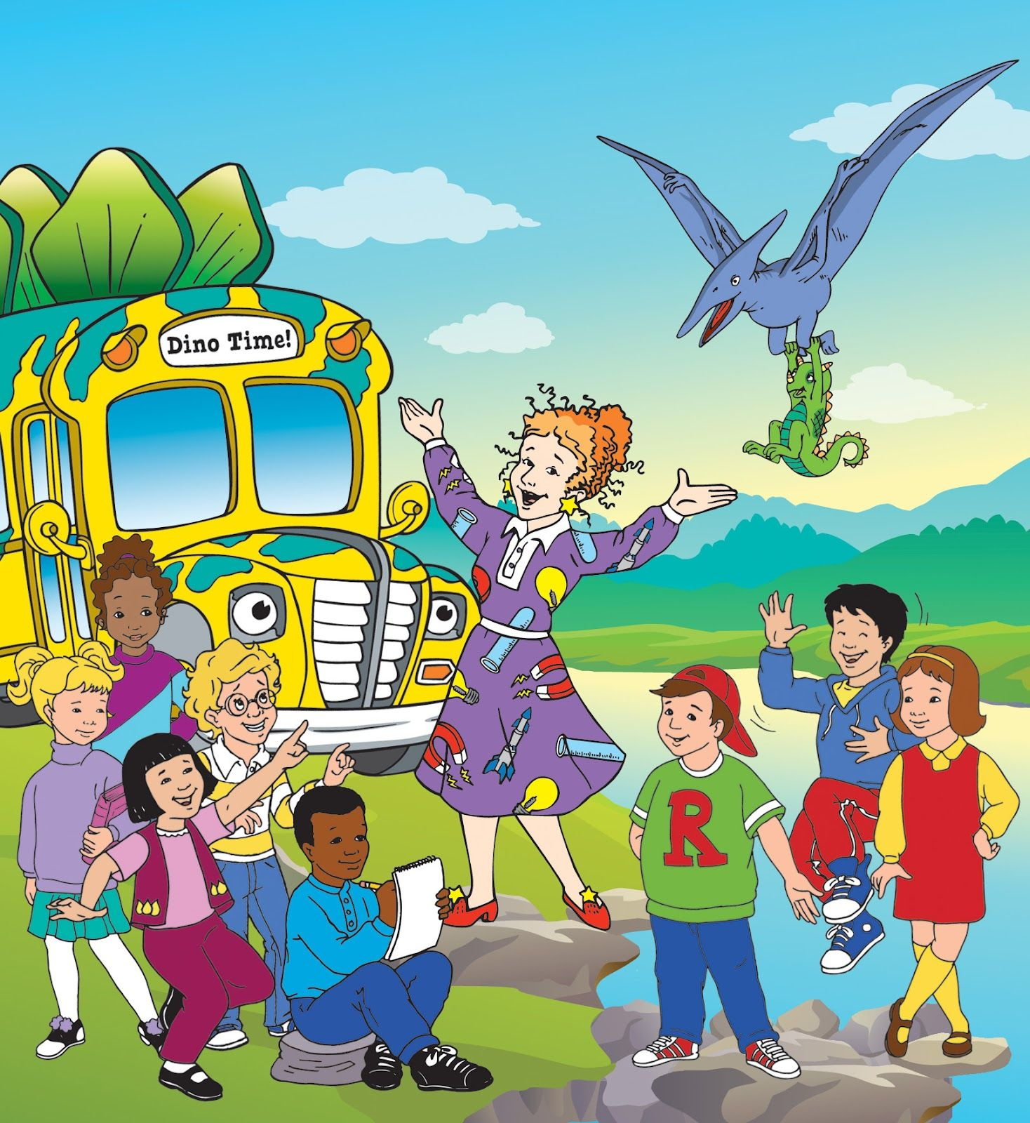 Now Available On Dvd The Magic School Bus The Complete Series