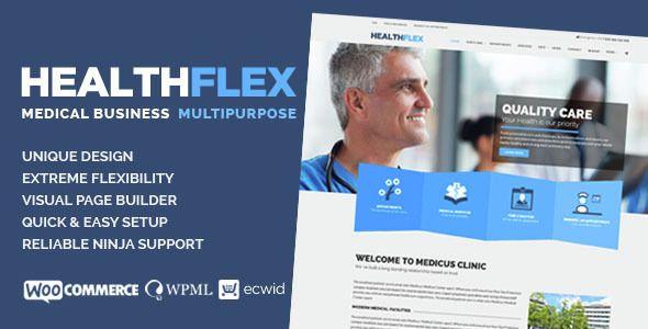 Download ThemeForest HEALTHFLEX v1.5.2 Medical Health WordPress The ...