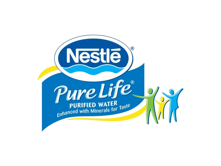 Nestle Pure Life Water #beverage #client | Clients | Water logo