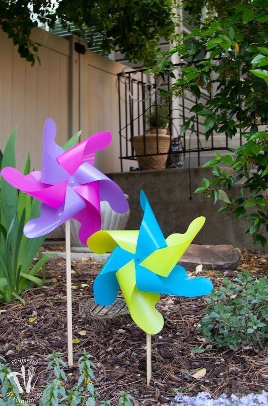 Easy Diy Giant Outdoor Pinwheels Diy Pinwheel Pinwheels