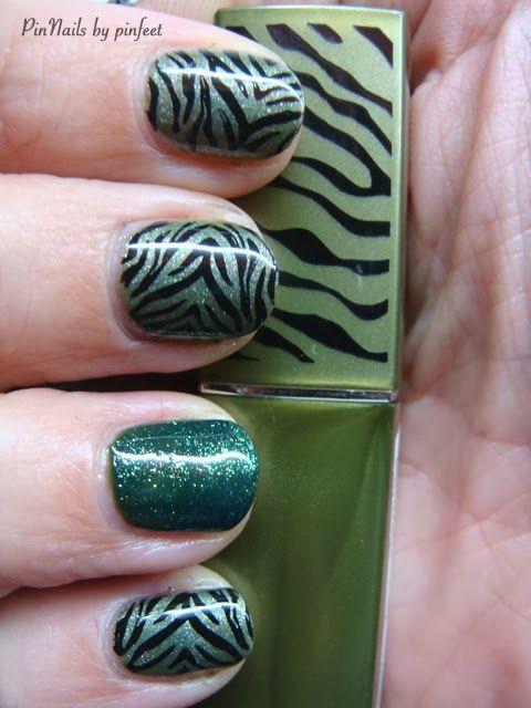 PinNails: stamping nails gelish mash | Nail art | Pinterest | Uñas ...