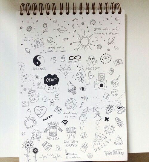 Doodles amazing art pinterest doodles bullet for Buy blueprint paper