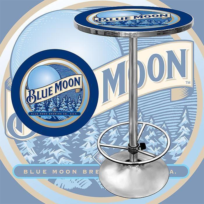 Trademark Commerce Bm2000 Blue Moon Pub Table Blue moon